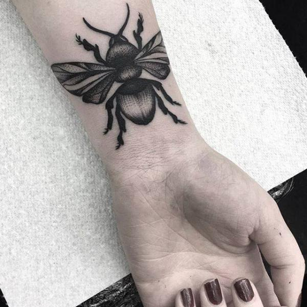 Arm Scrabble Tattoo by Parliament Tattoo