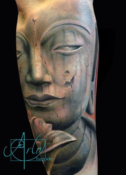Buddha Religious Tattoo by The Raw Canvas