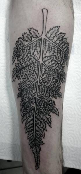 Arm Leaf Tattoo by Voice of Ink