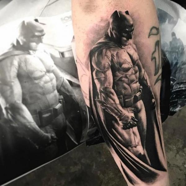 Arm Batman Tattoo von Bang Bang