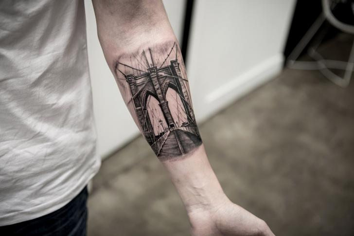 Arm Bridge Tattoo by Bang Bang