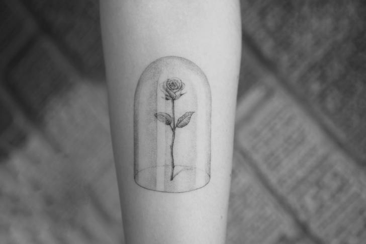 Arm Flower Tattoo by Bang Bang