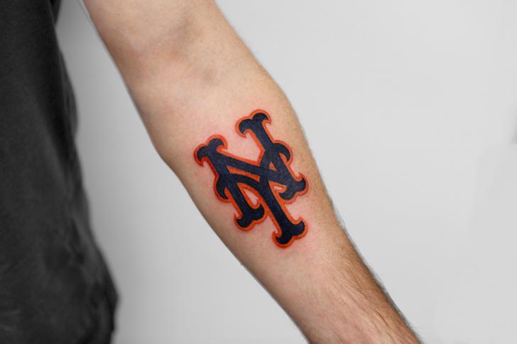 Arm Logo New York Tattoo by Bang Bang