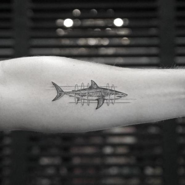 Arm Shark Tattoo By Bang Bang