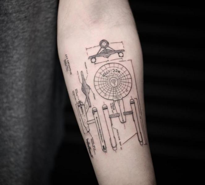 Arm Tattoo von Bang Bang