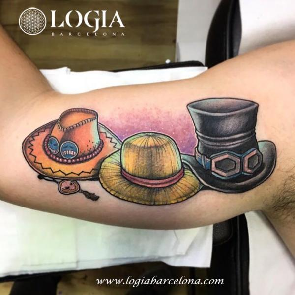 6116eb4cc70 Arm Hat Tattoo by Logia Barcelona