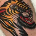 Arm Tiger tattoo by Kings Avenue Tattoo
