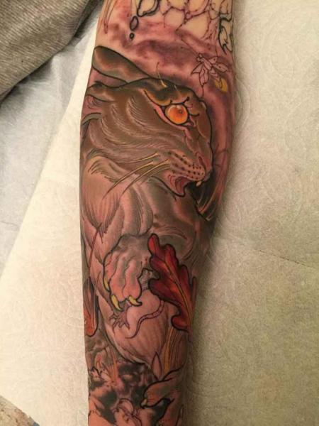 Arm Hase Tattoo von Good Kind Tattoo