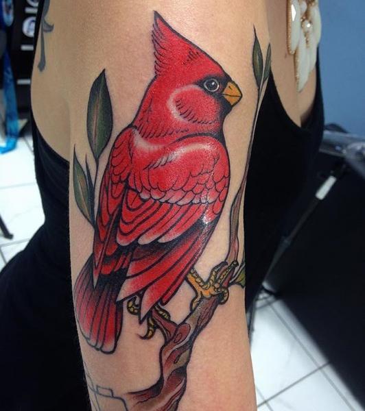 Arm Bird Tattoo by Black Anvil Tattoo