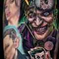 Arm Joker tattoo von Sabian Ink