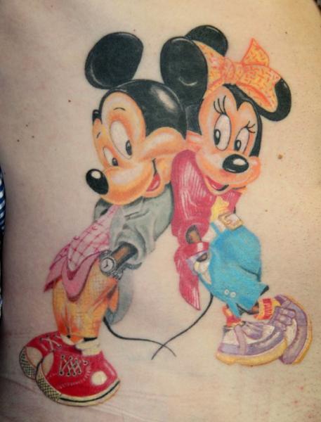 Tatuaggio Fantasy Topolino di Cia Tattoo