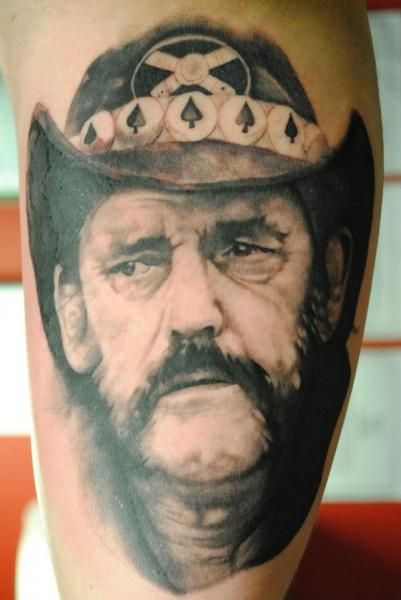 Arm Portrait Realistic Tattoo by Black Heart Studio