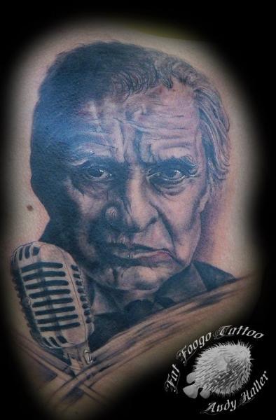 Portrait Realistic Tattoo by Fat Foogo