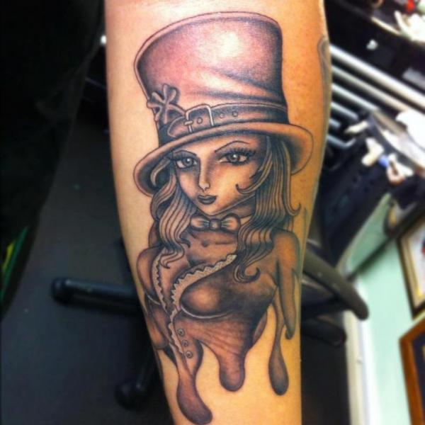 Arm Fantasy Women Tattoo by Colchester Body Arts