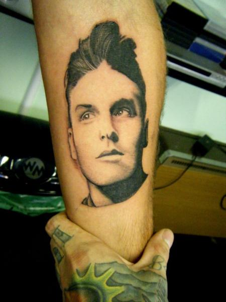 Arm Portrait Realistic Tattoo by Colchester Body Arts